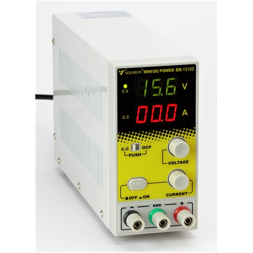Soldron Mini DC Power Supply 15V/10A