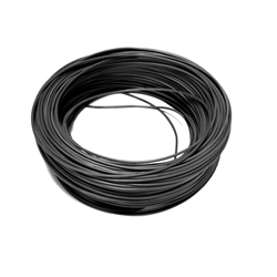 Hook Up Wire Black 92 metres