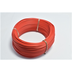 Hook Up Wire Red 92 metres